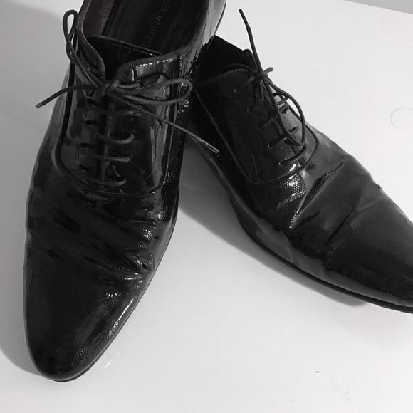 Louis Vuitton Monogrammed Dress Shoes